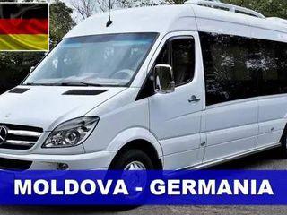 Пассажирские перевозки Молдова - Германия!!!