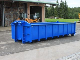 Container  gunoi constructie 8m3