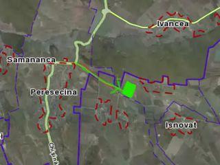 Teren pentru vila de 12 ari linga Riscova