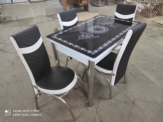 "Set masa + 4 scaune model ""3692"" 2899 lei disponibil si in rate"