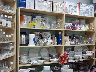 Vesela porțelan,cristal,sticla,cani,cesti,pressfrench,seturi pentru ceai.sortiment divers