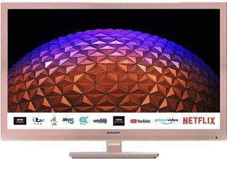 Sharp 24BC0KR 24 Inch, HD Ready, LED, Smart TV