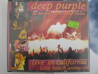 2CD  deep purple live in california  1976