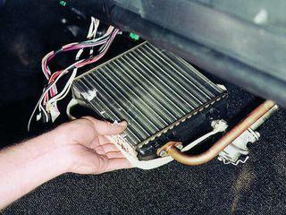 Reparatia sistemului de Încălzirea a salonului auto/ремонт отопителя салона