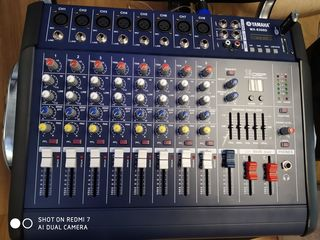 Mixer activ,, Yamaha ''cu usiliteli : 800 W  -Bluetooth, -Flachca 4200 lei !!!