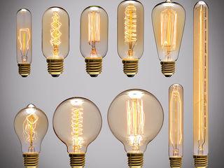 Винтажные ретро лампы Эдисона от 35 лей