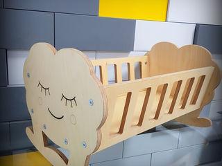 Кроватка для кукол! Patuc pentru papusi!