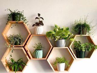 Etajere hexagonale