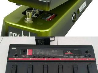 Pedal Wah=167 проц. Korg A-5 Guitar=138 Процессор FX (9/10) обмен, бартер. Pedal Wah