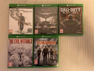 Продам игры на Xbox One