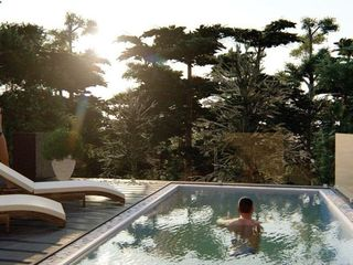 Уникальный пентхаус с басейном на террасе и видом на Комсомольское Озеро / Свой отдельный лифт!