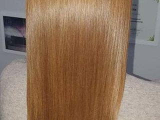 Tratament şi îndreptarea părului cu keratină & botox.Botanika.  se achită  jumătate din preț