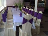 huse pentru scaune și mese . чехлы для стульев и столов