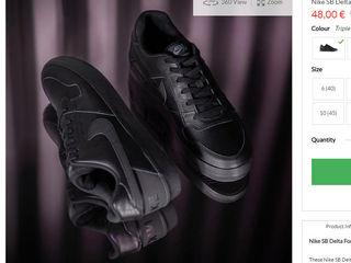 Nike SB Delta.Оригинал. Куплены на sportsdirect.com, 795 лей, новые, кожа.