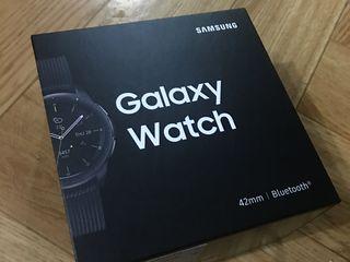 Samsung galaxy watch 42mm, bluetooth, midnight black