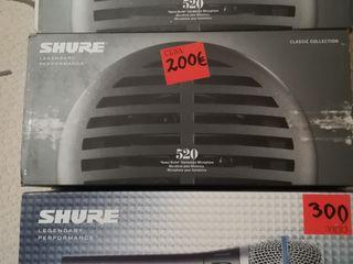 Shure Beta 87C, Shure 55sh series 2 dinamic micr, PG57-XLR, SM58-LK
