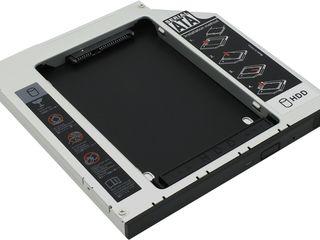 HDD Caddy laptop 9.5mm sau 12,7mm interfata SATA!