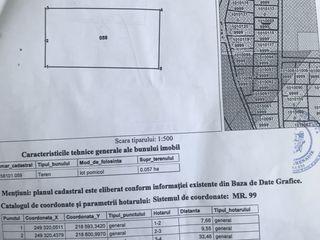 lot pentru constructie  6 ar / Участок под  строительство дома 6 сот