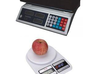 Весы электронные кухонные, торговые