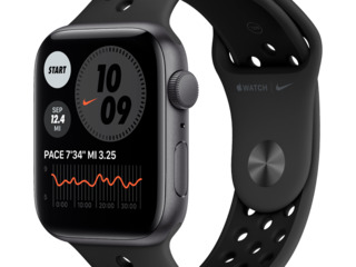 Apple watch SE Nike 1.78'' (44мм)/ Anthracite черный