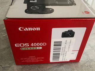Canon EOS 4000D nou