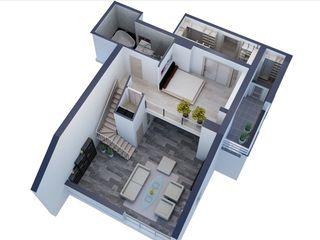 Penthouse в 2 уровня - 159m2  Центр