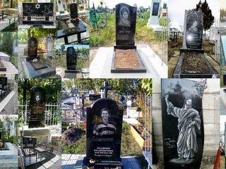 Monumente funerare din granit în Chişinău. Preţuri reale, calitate garantată.