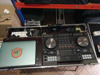 Продам DJ - комплект в кейсе Traktor Kontrol S4 mkIII, Mixer - RCF M18 Dig Mixer, WLMic - ShureSM58