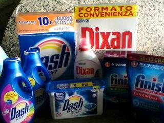 Dash lichid 20 doze-110L, cocolino,vernel,finish, produse alimentare Italia.