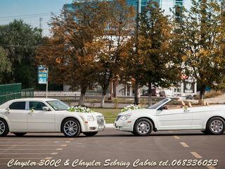 Automobile de lux - Chrysler pentru Nunta