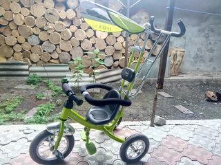 Отличный детский прогулочный велосипед