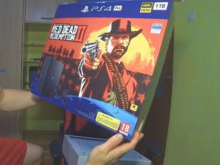 PlayStation 4 Pro (1T)+Red Dead Redemption II  cadoul perfect pentru cei apropiați!