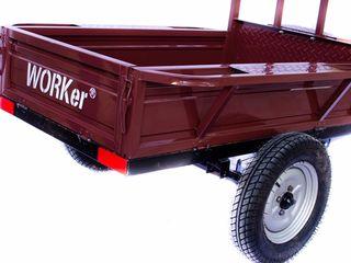 Прицеп для мотоблока 1400x90x30cm 700 kg  c доставкой на дом. Garantie 2 Ani . Livrare, 5500 lei