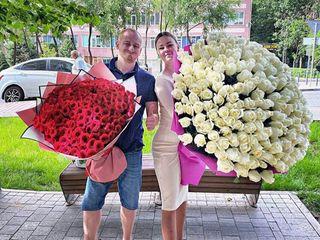 Trandafiri 101 / buchete / flori de la producător