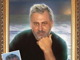 Портреты на заказ в кишиневе  с 150 леев масло на холсте  puteti suna pe vaiber vhatsapp orengi