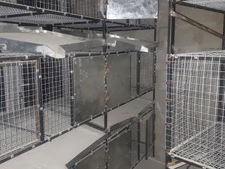 Клетки для кроликов и птиц.