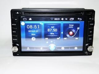Автомагнитола 2 din Pioneer Android 6.0 (GPS,TV,USB, DVD) новинка 2018