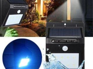 Светильник с датчиком движения на солнечной батарее, уличный светильник Solar Powered Led Wall Light