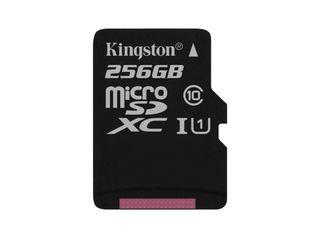 новые MicroSD Kingston 256Gb class 10