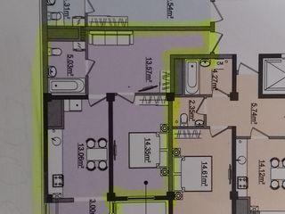 """Urgent se vinde apartament cu o odaie - 49 m2   în ,,Complexul Green Park Home"""" pe str. Titulescu 36"""