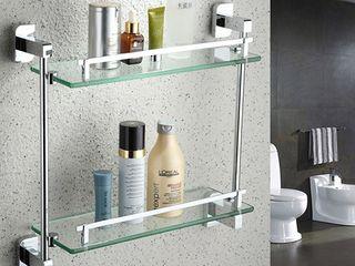 Навеска ванных и кухонных аксессуаров. Полочки, зеркала и др. Мастер. Качественно.