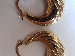 Серьги покрыты золотом 60 лей