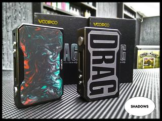 New!!! VoooPoo drag 157W TC Box Mod - Purple Jade 900lei + 400lei E-Liquid, SunCity, Cuza Voda 24