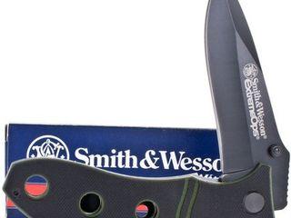 Ножи Smith & Wesson для экстремальных ситуаций.