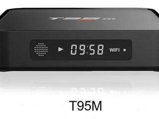 Smart TV приставка Sunvell T95M (Amlogic S905, 1GB/8GB, LAN, Android 6.1) TV BOX