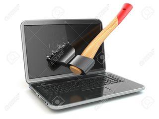 Reparatie laptop la domiciliu.certificat de garantie.reparatie acer ,asus,msi ,hp ,packard bell