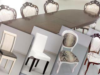 Столы и стулья из дерева для комнаты и кухни готовые и на заказ