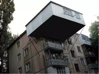 Расширение балконов. Кладка балконов в Кишиневе, окна, Хрущевка Сталинка, Брежневка,143 серия и тд