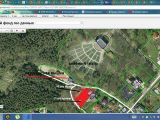 lot pentru constructie linga valea morilor 7 ar privat +4 / Участок возле комс. озера  7+4 сот
