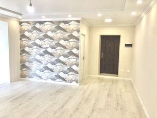 Euroreparație 2 dormitoare + salon + garderobă 86 m2 ( 650 euro/m2 )